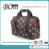 suit back polka dot travel bag