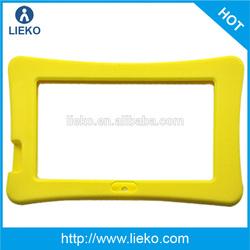 Silicone bumper case for iPad mini