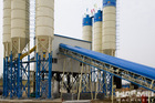 Fully Automatic Cement And dry mix concrete batching plant HZS90