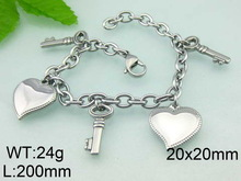 The biggest supplier in china have 4000 ions charm bracelet