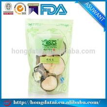 stand up zipper tea / plastic tea package bags / tea pouch design