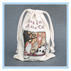 Top quality customized promotion drawstring bag/cotton drawstring bag/drawstring bag dust bags