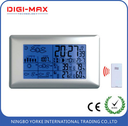 Hot-sale Multifunctional 5 days weather station with radio controlled clock