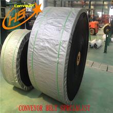 Wanhe professional EP fabric endless conveyor belt rubber round conveyor belt