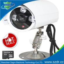 Hot Sale Micro SD Card Digital Bullet Camera Wireless CCTV Camera 360 degree rotation cctv cameras
