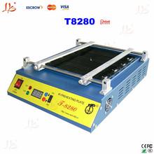 PUHUI T-8280 220V PCB Preheater, professional IR-preheating plate for infrared SMD rework, BGA Rework Station Preheating machine