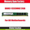 Best price full compatible accept Paypal memoria ram ddr3 2gb desktop