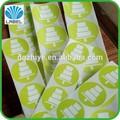 el más reciente 2014 fabricación oem de impresión personalizada de crema de hielo de la etiqueta