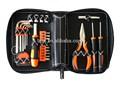 26 pc portátil bolsa de herramientas con estuche de cuero