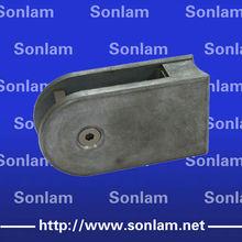 handrail zinc glass bracket with chrome plated