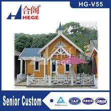 luxury wooden villas