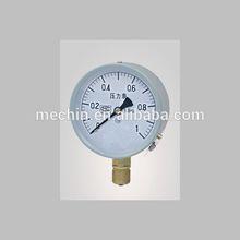 """High Quality 10-60MPa Y-40 pressure gauge 40mm M10*1 1.0"""""""