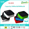 3000mah external power bank for samsung galaxy s3 i9300 ,iphone 5/5s approve CE FCC ROHS