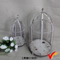round decorative wire wholesale vintage bird cages