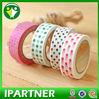 Ipartner 2014 Hot Selling bright japanese washi masking tape wholesale