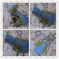 Bonitos do bebê Crochet Owl Hat e cabo crochê colorido coruja sonolento Hat e Diaper Cover Set