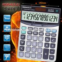 mini pocket calculators 14 digits Tax check and correct calculator RD-924