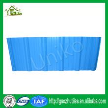blue economic fire-resistant composite asa coated sheet roofing for workshop