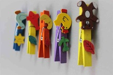 special design popular style wooden Clip alligator clip card holder