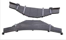 China Composite BPW single eye leaf spring for truck trailer 90x16-7