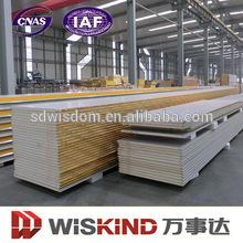 pu sandwich panel/wall cladding panel for prefab house/wall siding panel