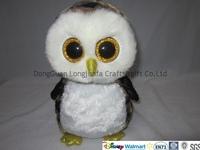 newest design birds wth large eyes plush owl