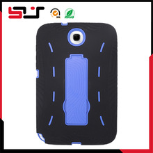 Fashion hybrid rugged combo kickstand case for samsung galaxy note 8 n5100