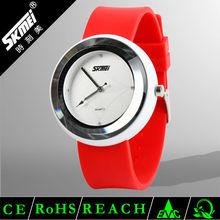 Novelty fashion popular ladies sweet silicone wrist quartz watch