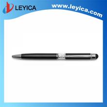 Elegant stylus pen high quality copper pen stylus with ballpoint pen