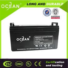 OEM solar battery backup power supply maintenance free 12v 100ah lead acid batteries solar cells