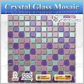vendita calda bella decorazione mosaico di vetro modello di colore di vetro