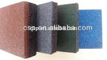 Safety training place outdoor rubber mat / kids rubber floor mats