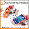 2014 amazing silicone M&M beans case for samsung galaxy s4 i9500