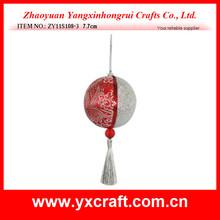 Christmas ball ZY11S108-3 7.7cm - christmas felt ornament patterns