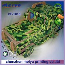 2014 new design corrugated cardboard toys corrugated cardboard paper go kart cardboard go kart factory shenzhen