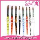 Sofeel sable nail art brush set