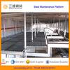 Adjustable Galvanized Steel Grating Platform