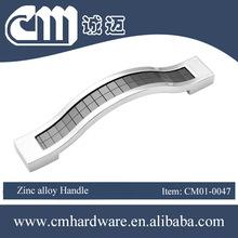 zinc die casting handle furniture hardware