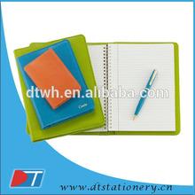 pu/pvc leather notebooks