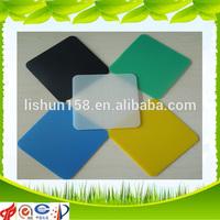 Rich Color PP corrugated Plastic Sign Corri Ribbed Board