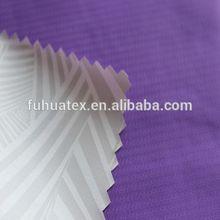 Milky coating Nylon Taslon fabric