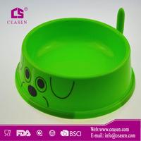 2014 high quality pet bowl/plastic pet bowl/cat dish