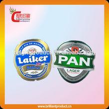 özel metalize bira şişesi etiketi güçlü renk özel etiket bira kaliteli ucuz biranın