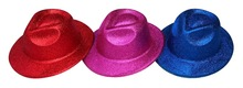 High Quality Lovely Shinning PVC Hat With Glitter