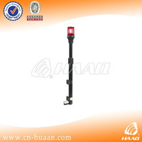 led motorcycle tail light with pole