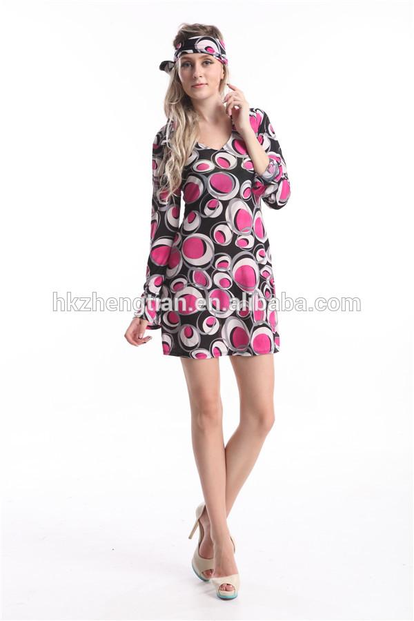 60 s 70 s go go girl discoteca retro para mujer del vestido del traje
