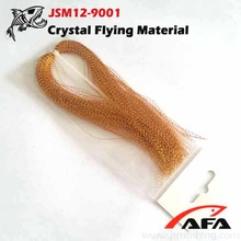 Golden crystal flash fly tying JSM12-9001