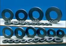 Y30 big ring ferrite magnets