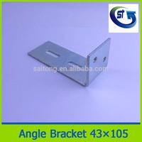 73X73 Steel angle reinforced corner brackets