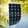 mini semi flexible thin solar panels China for boats prices